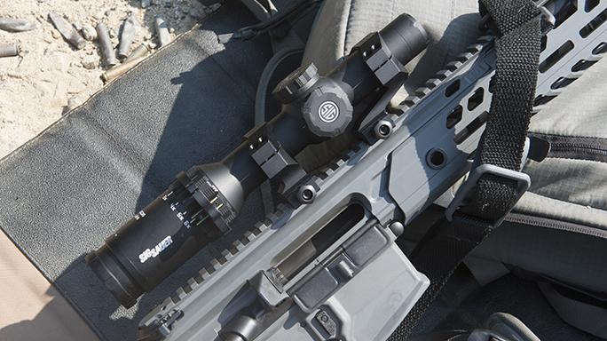 MCX Virtus Rifle video Tango scope