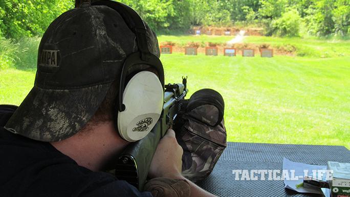 Arsenal SAM7R AK rifle accuracy test