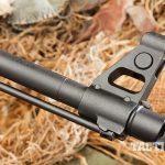 Arsenal SAM7R AK rifle front sight and barrel
