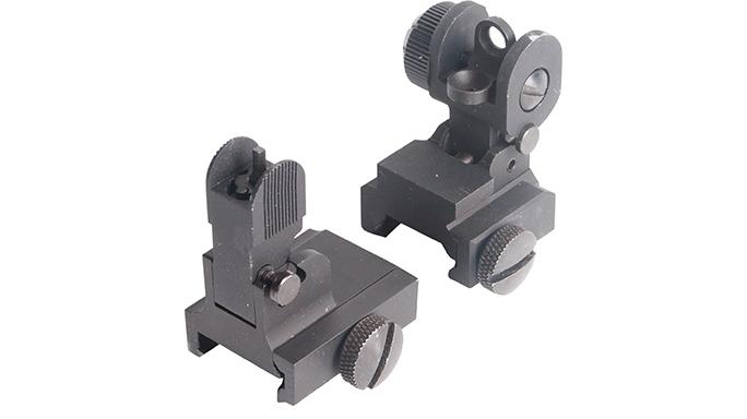 AT Flip Up Combo backup iron sights