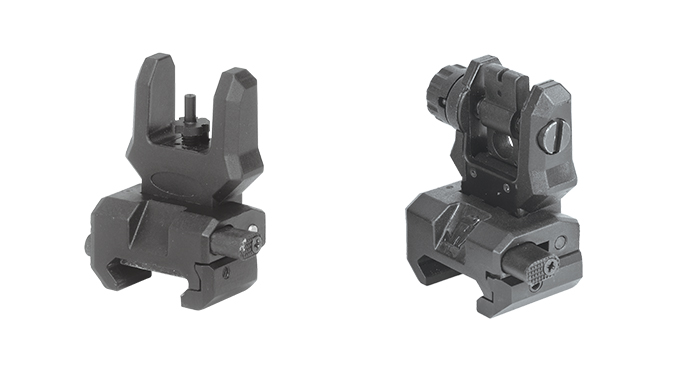Command Arms FFS & FRS backup iron sights