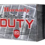 hornady critical duty ammunition box