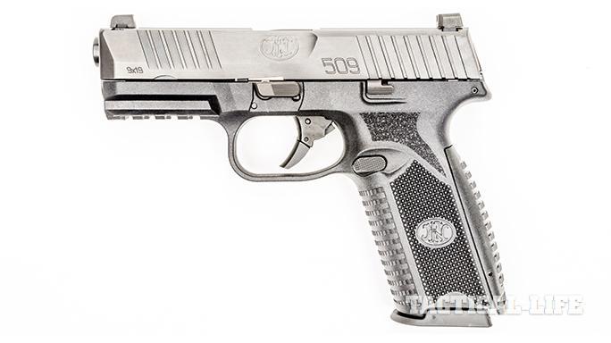 FN 509 pistol left profile
