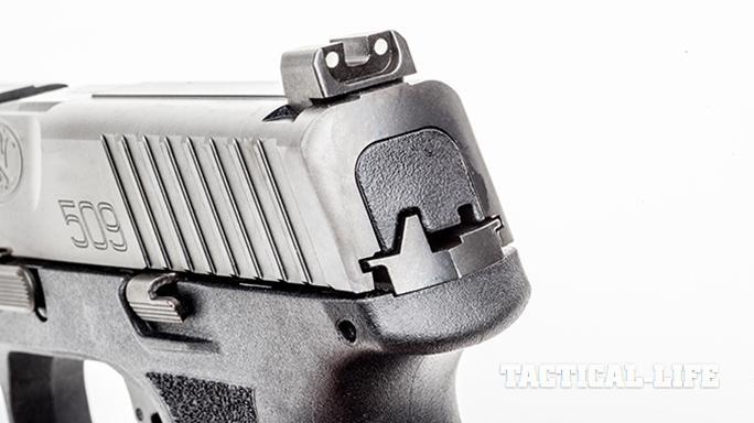 FN 509 pistol rear sight