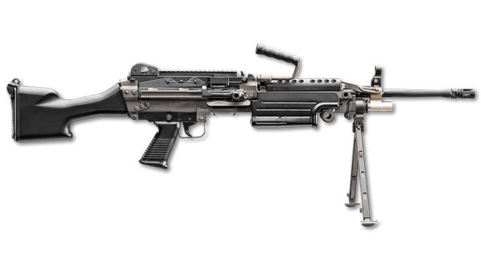 FN M249S rifle left profile