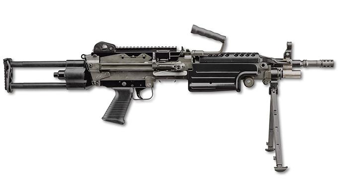FN M249S PARA rifle right profile