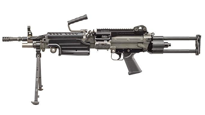FN M249S PARA rifle left profile