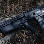 IWI Tavor 7 bullpup rifle on ground