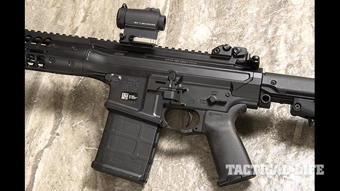 LWRCI REPR MKII rifle left profile