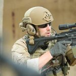 safariland liberator v headset shouldering rifle