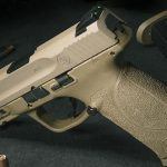 Smith & Wesson M&P M2.0 Pistol with TruGlo TFX Sights rear angle