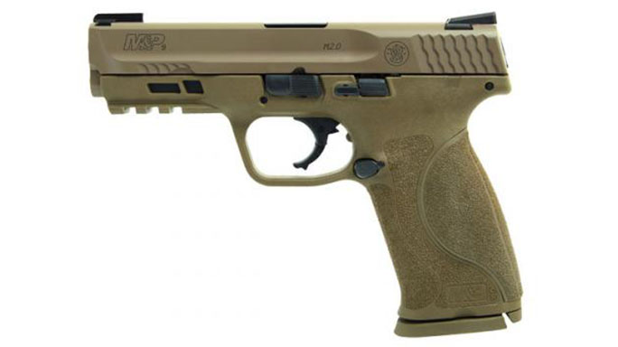 Smith & Wesson M&P M2.0 Pistol with TruGlo TFX Sights left profile