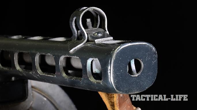 Soviet PPSh-41 submachine gun barrel