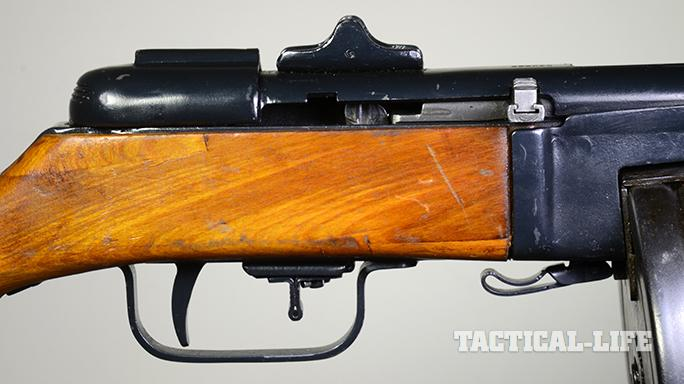 Soviet PPSh-41 submachine gun safety