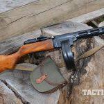 Soviet PPSh-41 submachine gun drum magazine