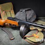 Soviet PPSh-41 submachine gun right angle