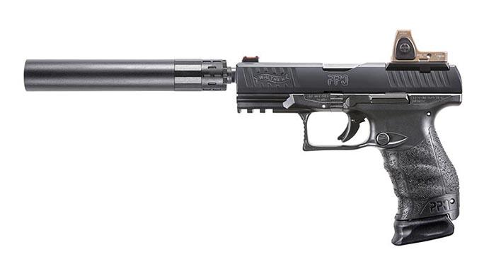 Walther PPQ M2 Q4 TAC pistol suppressor