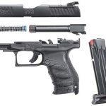 Walther PPQ M2 Q4 TAC pistol disassembled