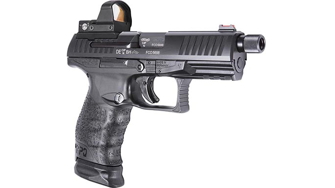Walther PPQ M2 Q4 TAC pistol right angle