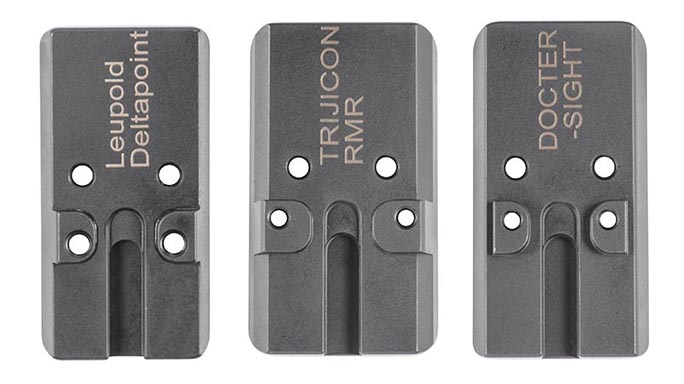 Walther PPQ M2 Q4 TAC pistol mounting plates