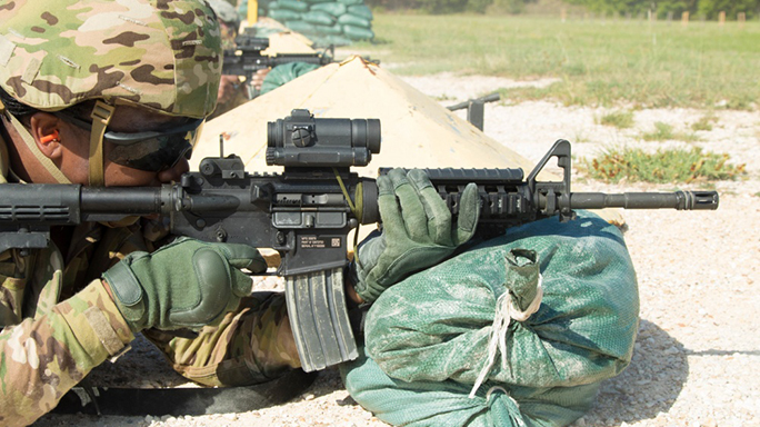 us army chief of staff mark milley m4 carbine