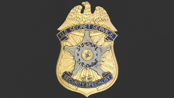 secret service badge