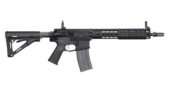 Secret Service Rifle 5.56mm Knight's Armament Company 5.56x45mm SR-16E3 CQB