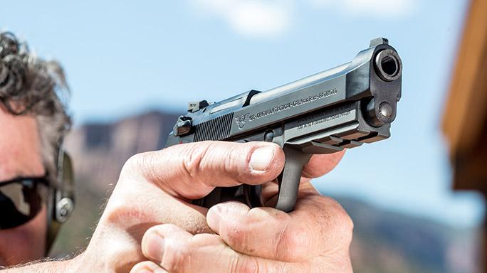 Beretta Wilson Combat 92G Centurion Tactical Pistol rendezvous close