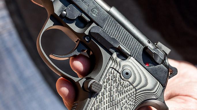 Beretta Wilson Combat 92G Centurion Tactical Pistol rendezvous trigger