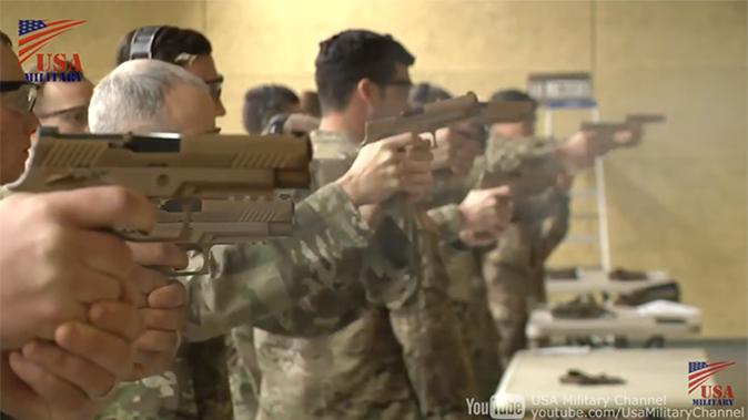 us army m17 m18 pistol range test