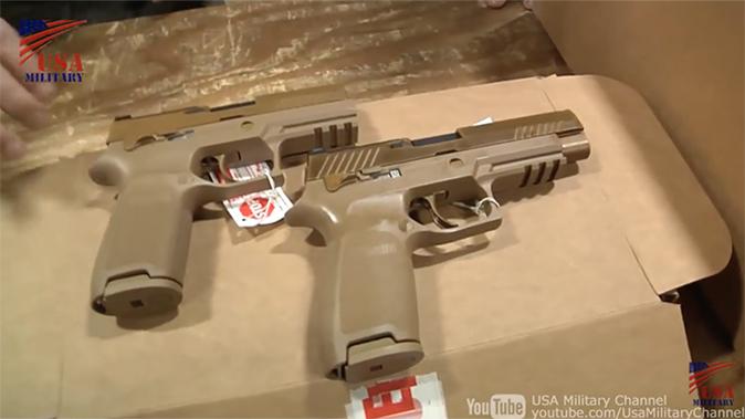 us army m17 m18 pistol comparison