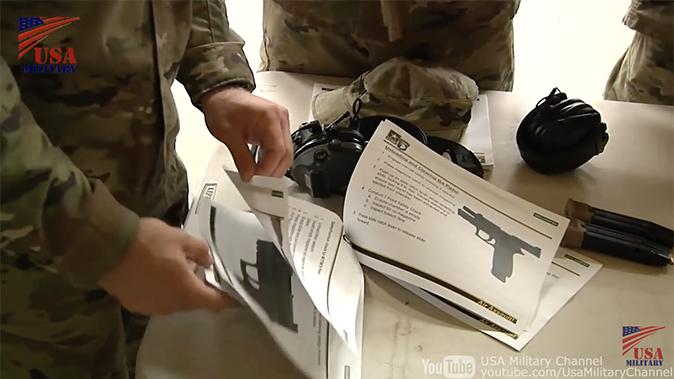 us army m17 m18 pistol instruction manual
