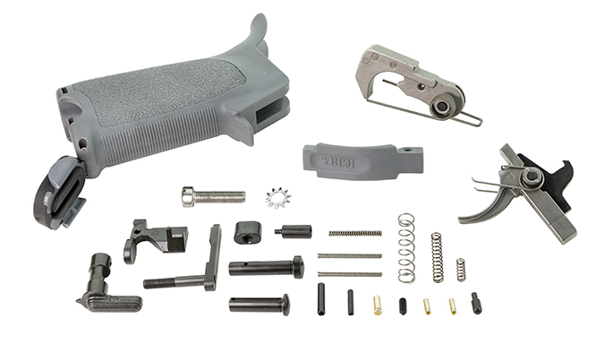 BCM Enhanced Lower Parts Kit ar gear