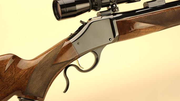 Browning B-78 varmint hunting rifle