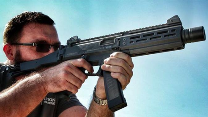 cz scorpion suppressed shooting