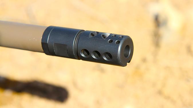 DRD Tactical Kivaari 300 Norma Magnum rifle muzzle brake