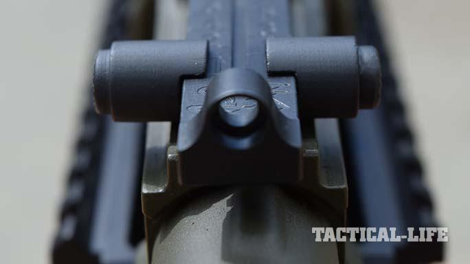 Definitive Arms DAKM-4150 rifle rear sight