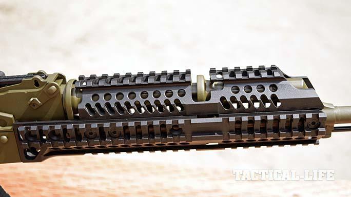Definitive Arms DAKM-4150 rifle handugard closeup