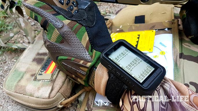 Garmin Foretrex 701 Ballistic Edition on wrist