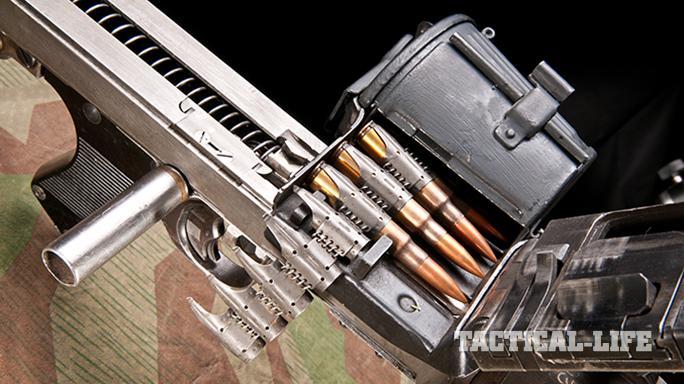 German MG34 Machine Gun ammo belt