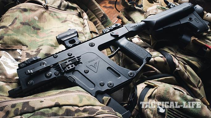KRISS Vector Gen II SBR on bag
