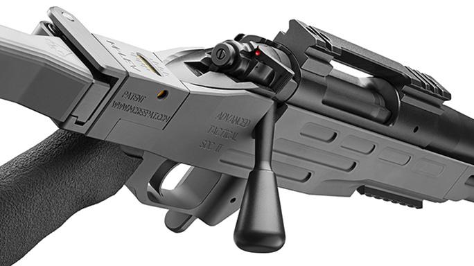 Kimber Advanced Tactical SOC II sniper gray rifle profile details