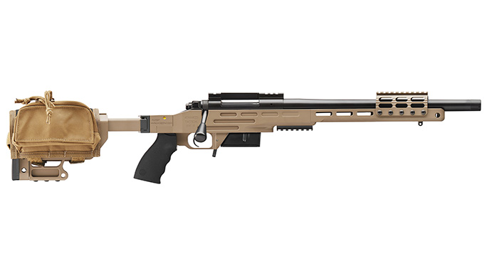Kimber Advanced Tactical SRC II rifle with bag right profile