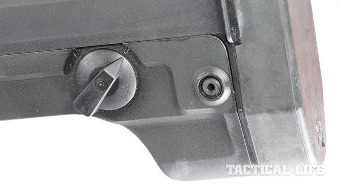 LA-K12 Puma shotgun safety