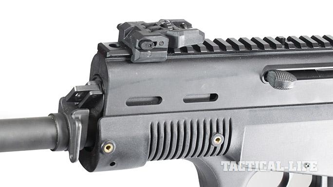LA-K12 Puma shotgun rail