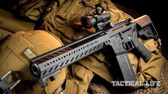 LMT CSW rifle left angle