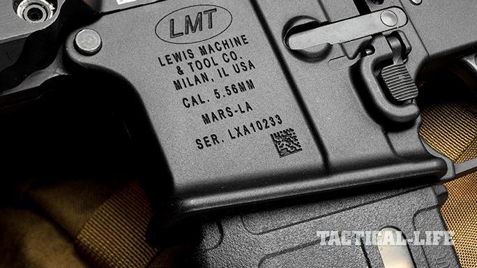 LMT CSW rifle markings