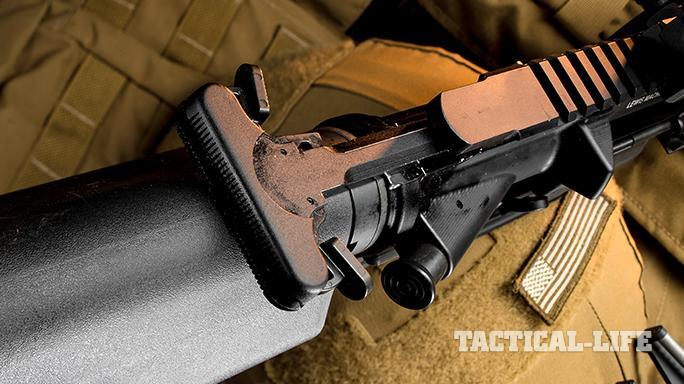 LMT CSW rifle charging handle
