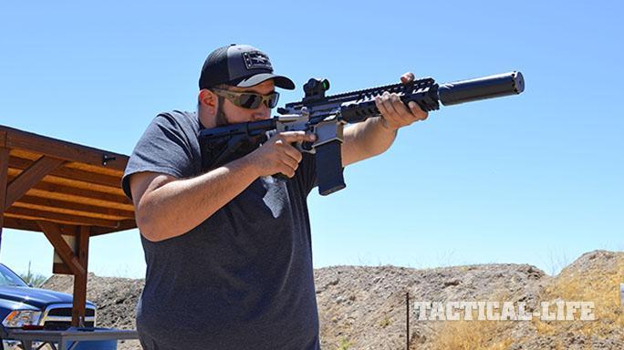 NG2 MAXFLO 3D suppressor firing