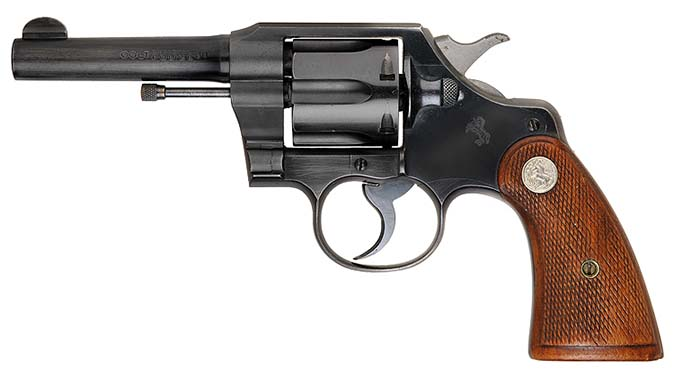 Colt Official Police service revolver